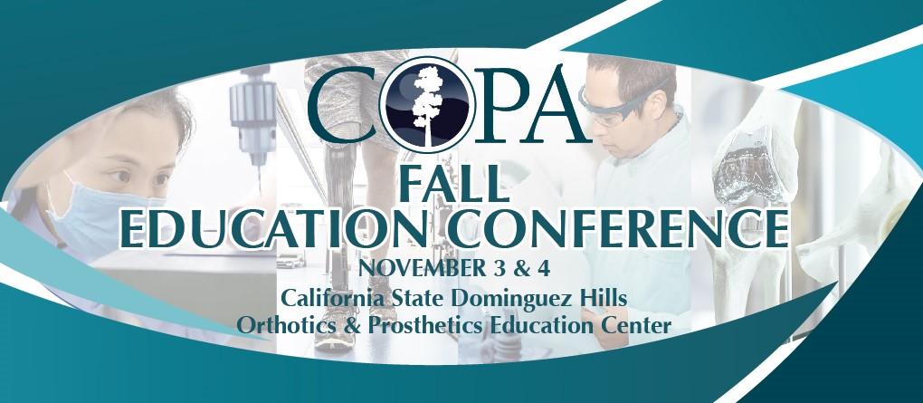 COPA Fall Conferece